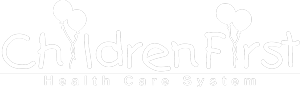 ChildrenFirst Logo in White