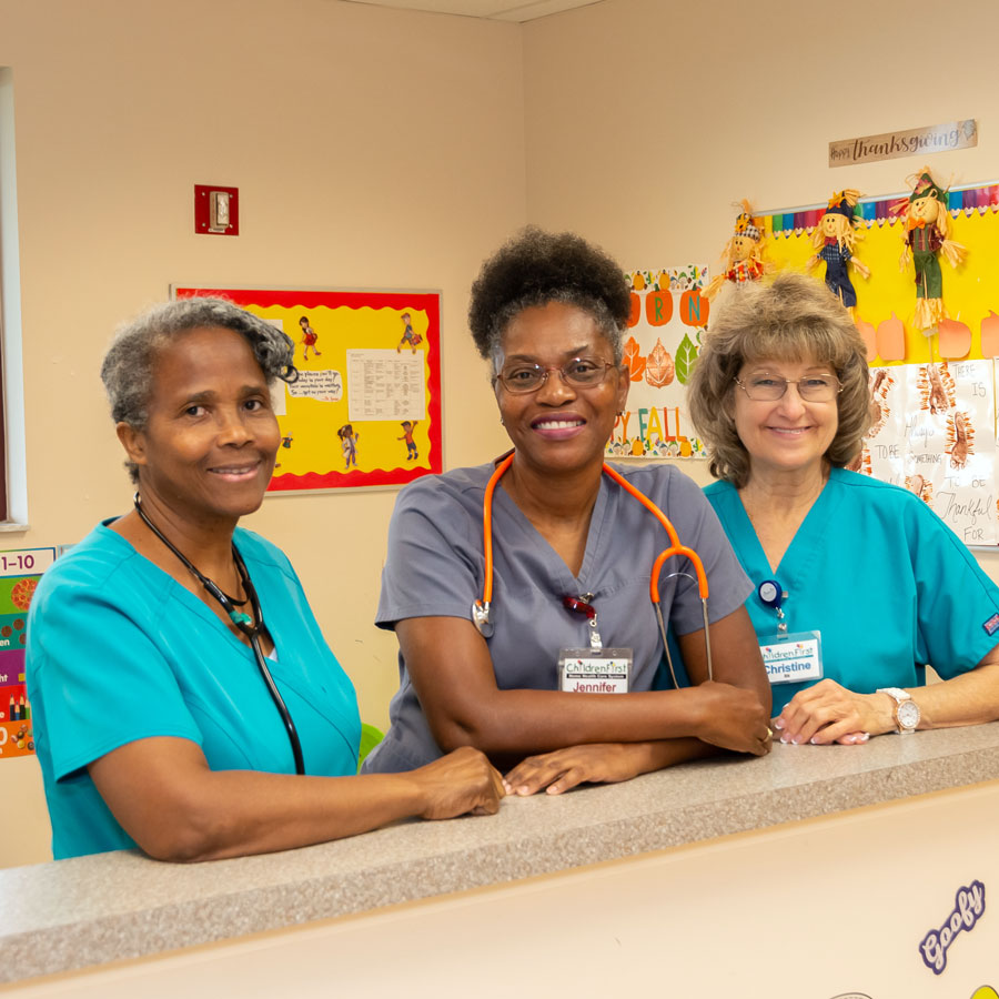 Nurses at ChildrenFirst
