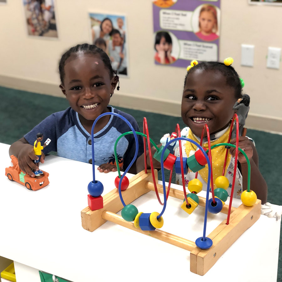 Friends Playing in ChildrenFirst Therapy
