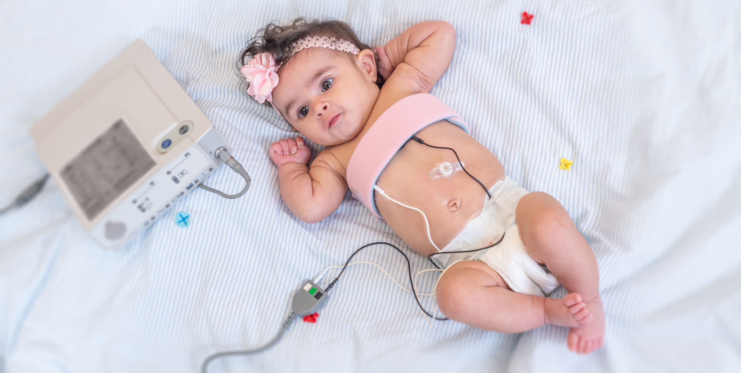 Infant Using Durable Medical Equipment