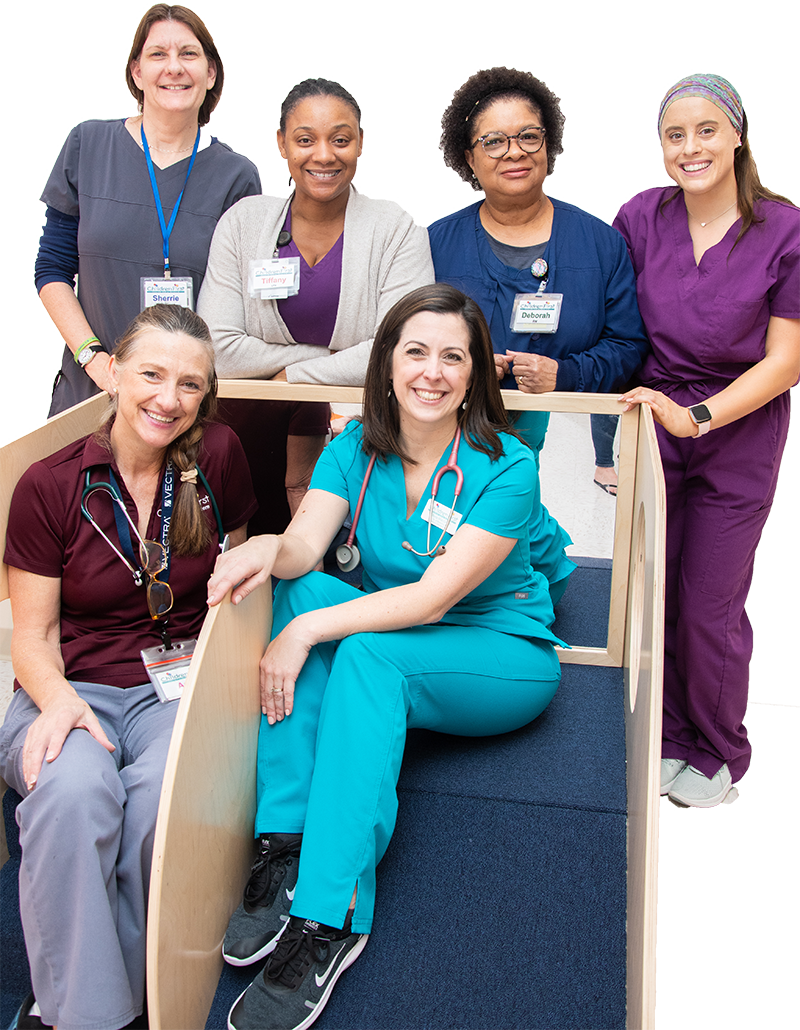 Employees at ChildrenFirst Healthcare System